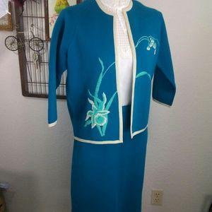 Vintage 1960's Wool Suit